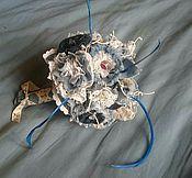 """Свадебный салон ручной работы. Ярмарка Мастеров - ручная работа букет невесты """"Джинсовое настроение"""". Handmade."""