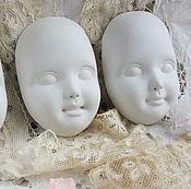 Материалы для творчества handmade. Livemaster - original item Face for the doll. Handmade.