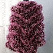 Аксессуары handmade. Livemaster - original item Fur shawl