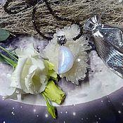 Фен-шуй и эзотерика handmade. Livemaster - original item Moonstone Amulet Growing Moon. Handmade.