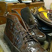 Обувь ручной работы. Ярмарка Мастеров - ручная работа кеды. Handmade.