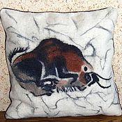 Для дома и интерьера ручной работы. Ярмарка Мастеров - ручная работа Подушка войлочная. Handmade.