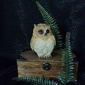 Фен-шуй и эзотерика handmade. Livemaster - original item Spirit-assistant owl.. Handmade.