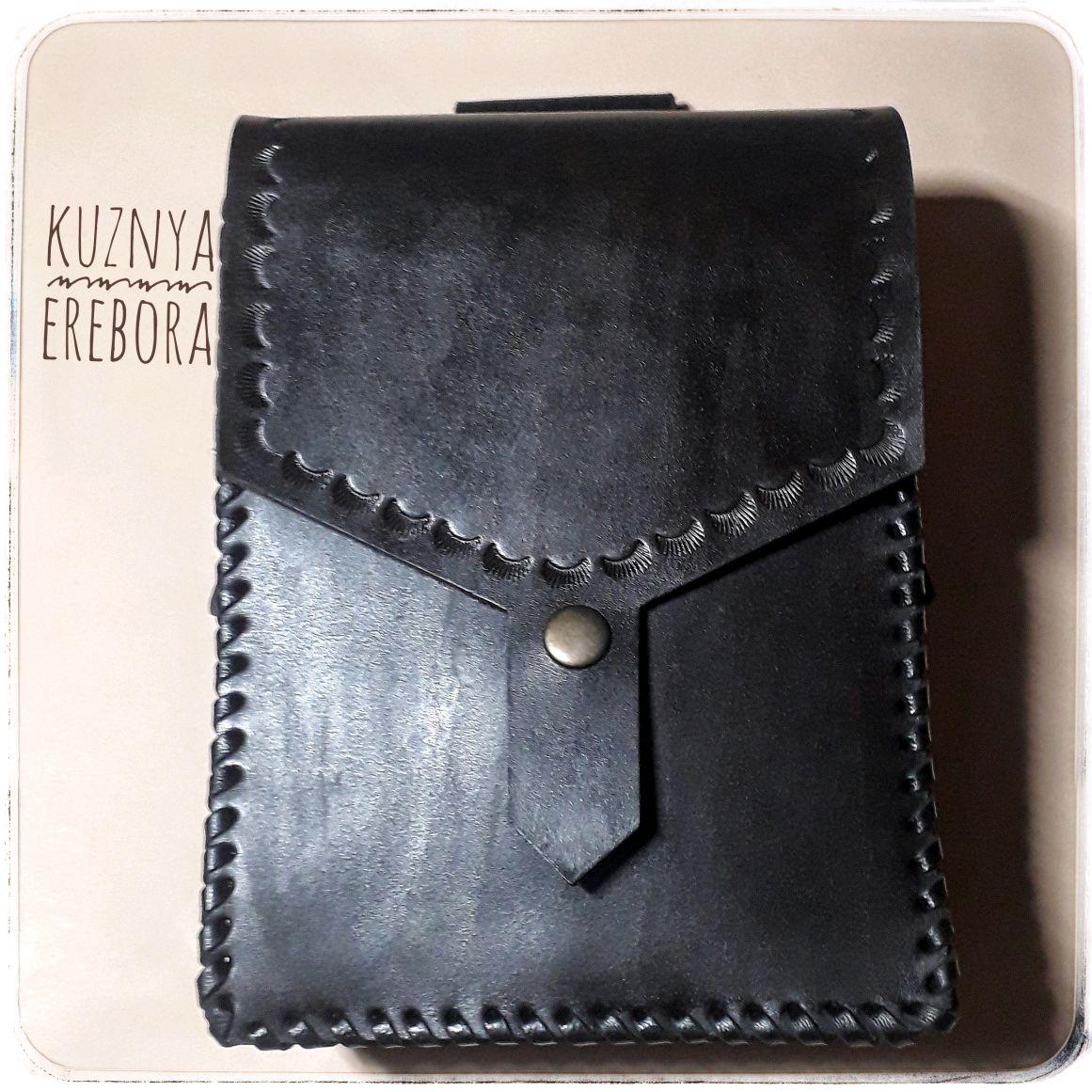 Поясная сумка из натуральной кожи, Поясная сумка, Кисловодск,  Фото №1