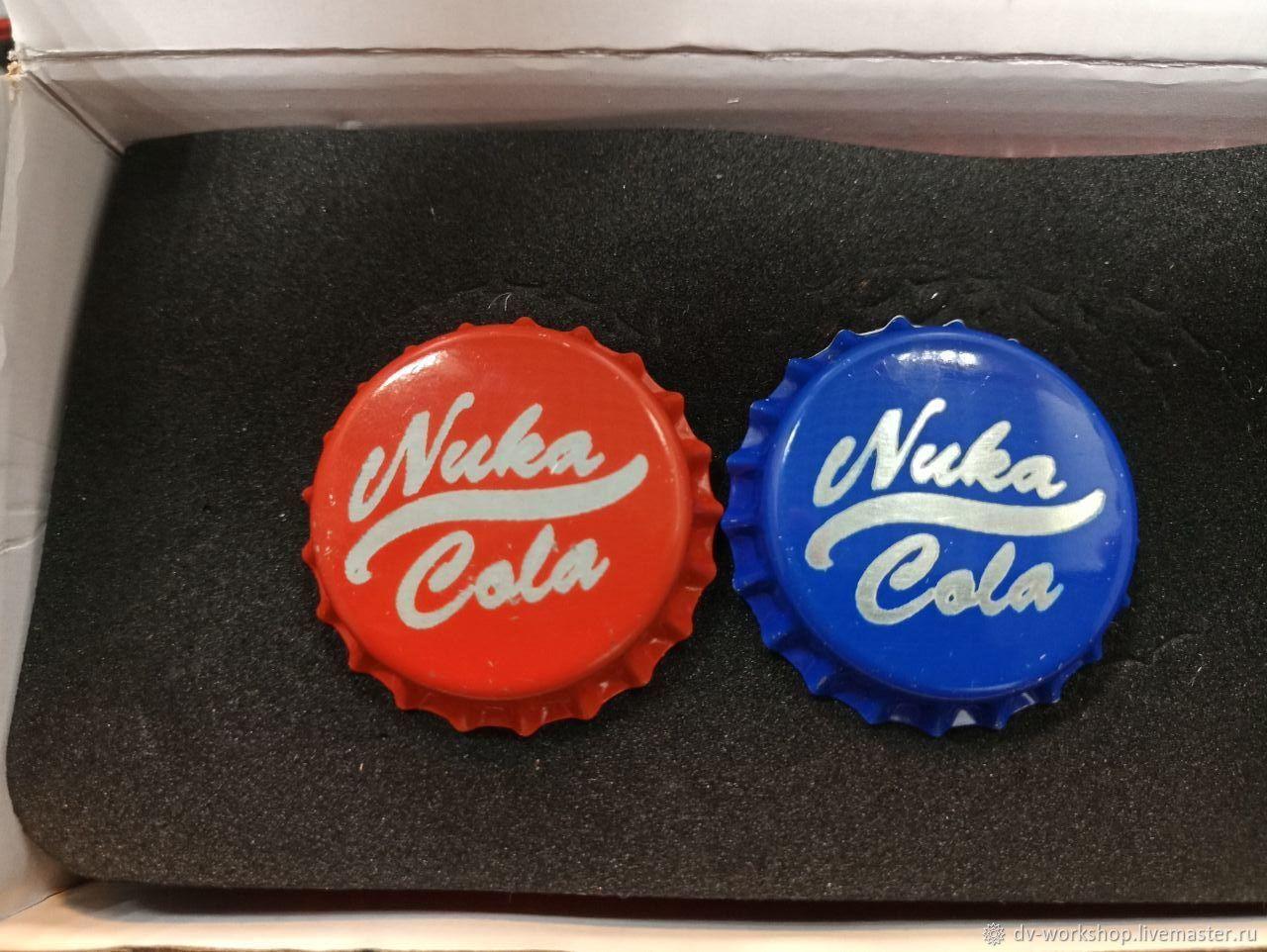 Подарочные наборы ручной работы. Ярмарка Мастеров - ручная работа. Купить Партия крышек (100шт) Nuka Cola. Handmade. Комбинированный