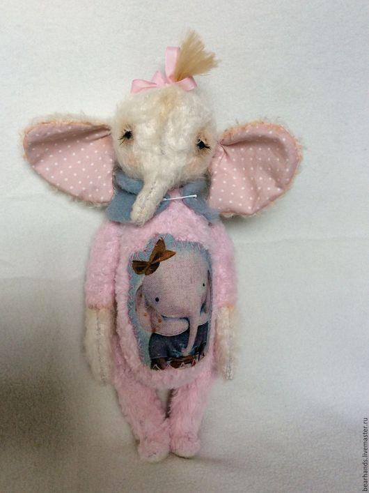Мишки Тедди ручной работы. Ярмарка Мастеров - ручная работа. Купить Pink. Handmade. Бледно-розовый, теддик, вискоза хлопок