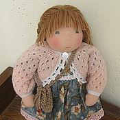 Куклы и игрушки ручной работы. Ярмарка Мастеров - ручная работа Текстильная кукла Дуняша.. Handmade.