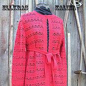 """Одежда ручной работы. Ярмарка Мастеров - ручная работа Ажурное пальто """"Калина"""". Handmade."""