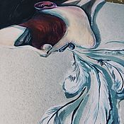 Картины и панно ручной работы. Ярмарка Мастеров - ручная работа Inhale deeper. Handmade.