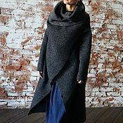 Одежда ручной работы. Ярмарка Мастеров - ручная работа Пальто двухстороннее СOZY SEA. Handmade.