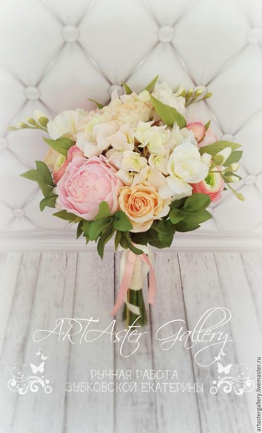Свадебные цветы ручной работы. Ярмарка Мастеров - ручная работа. Купить Букет невесты. Handmade. Букет невесты, свадебный букет