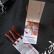 Дизайн и реклама ручной работы. Ярмарка Мастеров - ручная работа Визитки, бирки, ярлыки. Handmade.