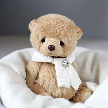 Куклы и игрушки ручной работы. Ярмарка Мастеров - ручная работа Осенний медвежонок. Handmade.