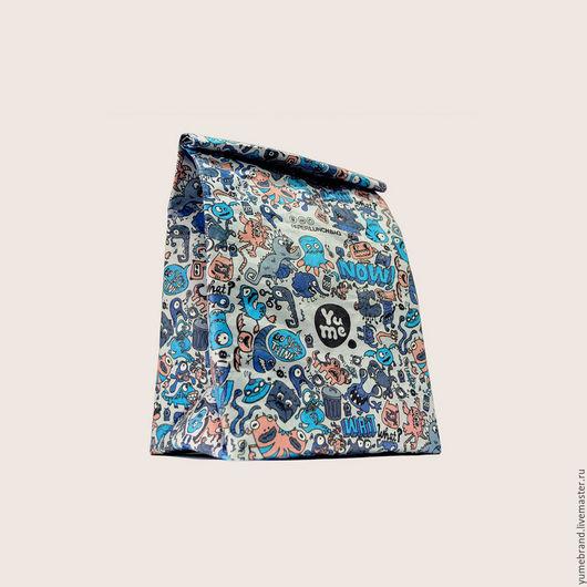 Сумки и аксессуары ручной работы. Ярмарка Мастеров - ручная работа. Купить Paper Lunch Bag / YPB-3. Handmade.