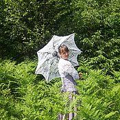 Аксессуары ручной работы. Ярмарка Мастеров - ручная работа Ажурный зонт-трость  Ананас. Handmade.