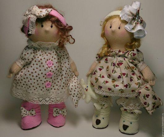 Коллекционные куклы ручной работы. Ярмарка Мастеров - ручная работа. Купить Кукла текстильная. Бусинка Сонечка... Handmade. кукла текстильная