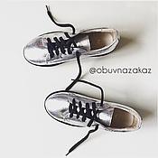 Обувь ручной работы. Ярмарка Мастеров - ручная работа Космические кеды )). Handmade.