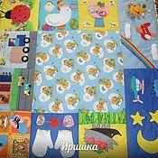 Работы для детей, ручной работы. Ярмарка Мастеров - ручная работа Развивающий коврик.. Handmade.