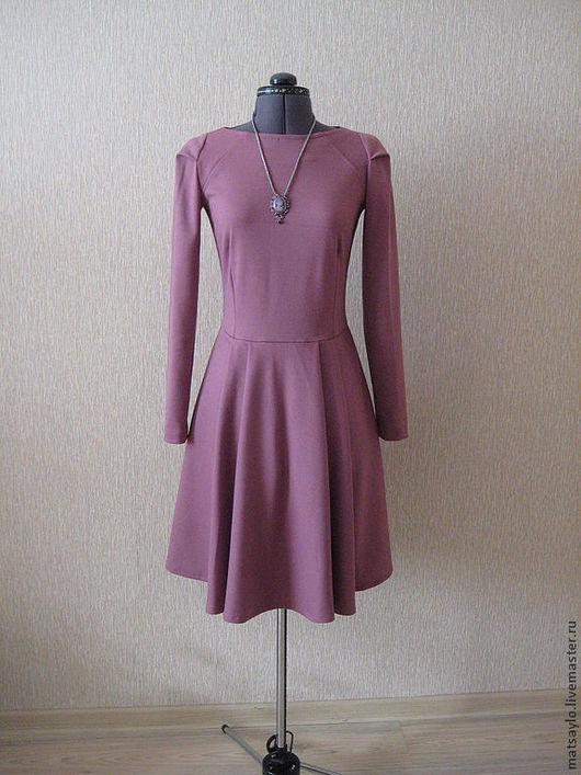 """Платья ручной работы. Ярмарка Мастеров - ручная работа. Купить Платье """"Камея"""". Handmade. Бледно-розовый, платье на выход, джерси"""