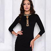 Одежда handmade. Livemaster - original item sheath dress black. Handmade.
