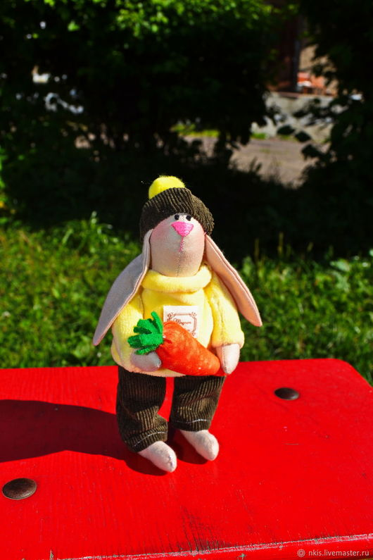 Куклы Тильды ручной работы. Ярмарка Мастеров - ручная работа. Купить Братцы-кролики.. Handmade. Желтый, безопасная игрушка, морковь