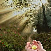 """Косметика ручной работы. Ярмарка Мастеров - ручная работа """"Букет солнечных лучей"""" - арома-бальзам, твердые духи. Handmade."""