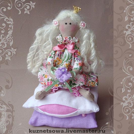 Куклы Тильды ручной работы. Ярмарка Мастеров - ручная работа. Купить Принцесса на горошине. Handmade. Кукла, интерьерная игрушка