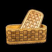 Для дома и интерьера handmade. Livemaster - original item Bread braided birch bark. Big box. For food storage. Handmade.