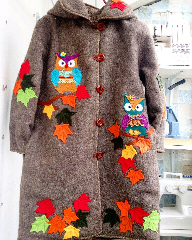 El abrigo de la crisálida en el invierno de lana 'Sovushki', Coats, Stupino,  Фото №1