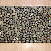 Для дома и интерьера ручной работы. Ярмарка Мастеров - ручная работа Коврик из камня. Handmade.