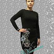 """Одежда ручной работы. Ярмарка Мастеров - ручная работа Вязаное платье""""Лилии"""". Handmade."""