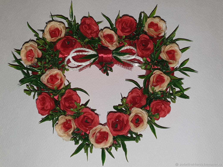 Сердце Долина роз, Подарки на 8 марта, Москва,  Фото №1