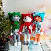 Куклы и игрушки ручной работы. Ярмарка Мастеров - ручная работа Кот Модник. Handmade.