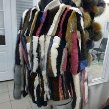 Одежда ручной работы. Ярмарка Мастеров - ручная работа Бомбер из меха норки. Handmade.