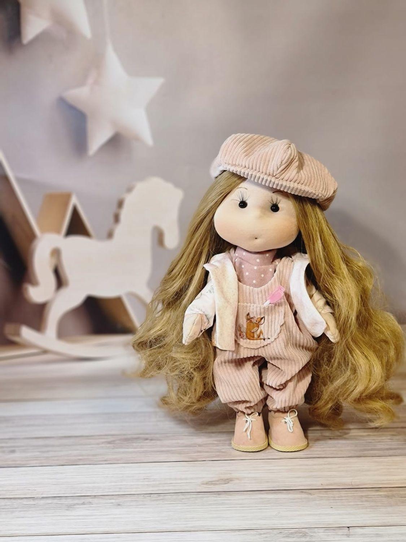 Текстильная кукла ручной работы, Одежда для кукол, Санкт-Петербург,  Фото №1
