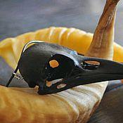Украшения handmade. Livemaster - original item Pendant with crow skull. Handmade.