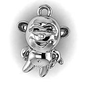 """Украшения handmade. Livemaster - original item Pendant """"Monkey"""". Handmade."""