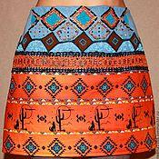 """Одежда ручной работы. Ярмарка Мастеров - ручная работа юбка """"Мексика"""". Handmade."""