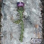 Украшения handmade. Livemaster - original item Textile boho brooch