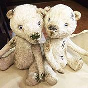 Куклы и игрушки ручной работы. Ярмарка Мастеров - ручная работа Армо и Арто Медведи Тедди РЕЗЕРВ. Handmade.