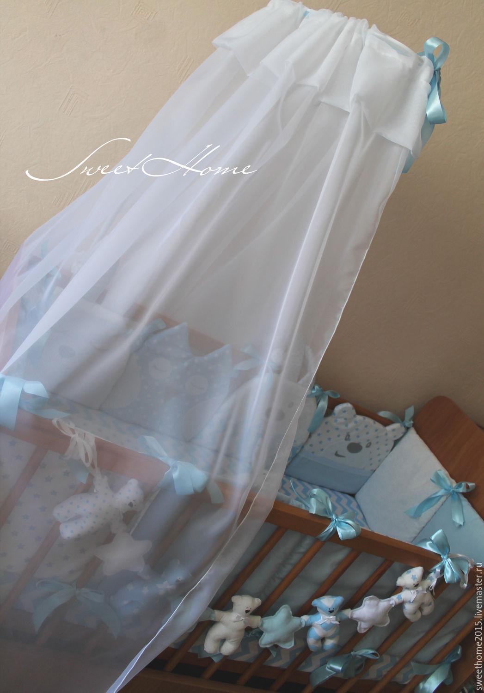 Как сшить балдахин на детскую кроватку своими руками выкройки фото схемы