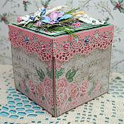 Новогодние сувениры ручной работы. Ярмарка Мастеров - ручная работа Коробочка Magic Box. Handmade.