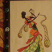 """Картины и панно ручной работы. Ярмарка Мастеров - ручная работа Картина """" Африка """". Handmade."""