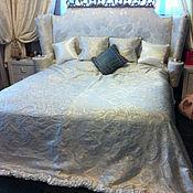 Для дома и интерьера ручной работы. Ярмарка Мастеров - ручная работа Покрывало для спальни. Handmade.