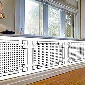 handmade. Livemaster - original item Wooden decorative panel for radiator. Handmade.