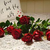 Цветы ручной работы. Ярмарка Мастеров - ручная работа Розы ручной работы из холодный фарфор. Handmade.