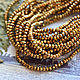 Rondeli 2,5 mm Gold, Beads1, Stavropol,  Фото №1