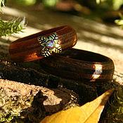 Кольца ручной работы. Ярмарка Мастеров - ручная работа Деревянное кольцо. Handmade.