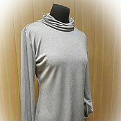 Одежда handmade. Livemaster - original item New - beige Turtleneck with lurex. Handmade.
