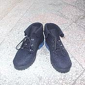 Обувь ручной работы. Ярмарка Мастеров - ручная работа Ботинки женские валяные .. Handmade.